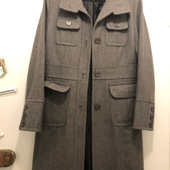 a4fed2110f1 Esprit Jackets   Blazers - Grey Espirit winter coat w removable hood!